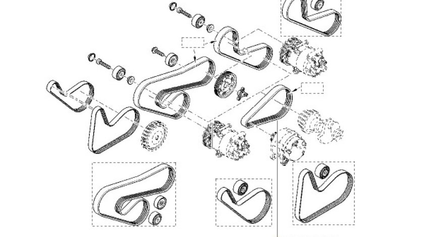 CUREA TRANSMISIE FARA AC. Logan/Sandero 1.2 16V RENAULT 8200830182 <br>