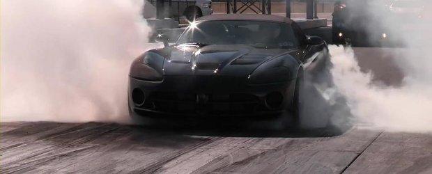 Curiozitatea Zilei: Cat de rapid e pe sfertul de mila un Viper Twin-Turbo?
