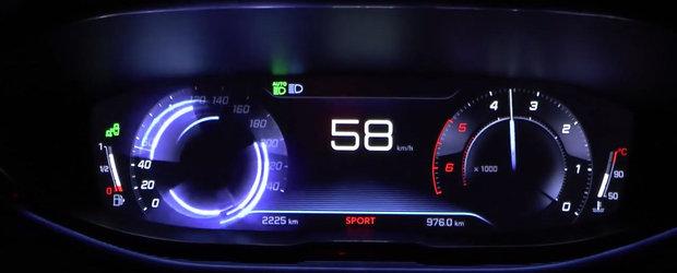 Curiozitatea Zilei: Cat de repede accelereaza noul Peugeot 3008 in versiunea 2.0 diesel?
