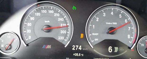 Curiozitatea Zilei: Cat de repede accelereaza noul BMW M3 Sedan?
