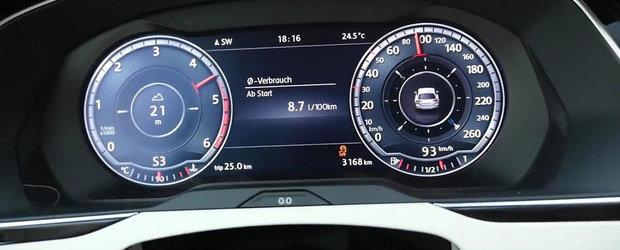 Curiozitatea Zilei: Cat de repede accelereaza noul VW Passat BiTDI?