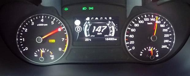 Curiozitatea zilei: Cat de repede accelereaza o masina sud-coreeana cu motor turbo de 245 CP?