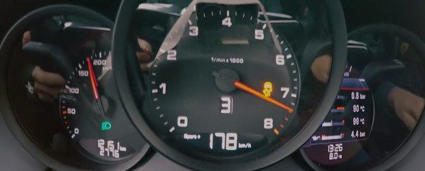 Curiozitatea Zilei: Cat de repede accelereaza un Porsche cu motor in patru cilindri?