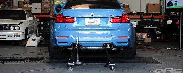 Curiozitatea Zilei: Cati cai putere ofera, de fapt, noul BMW M3 Sedan?