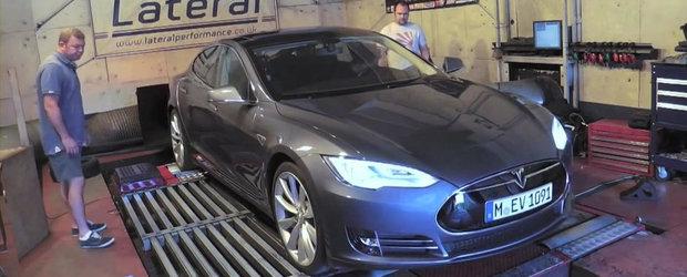 Curiozitatea Zilei: Cati cai putere ofera Tesla Model S