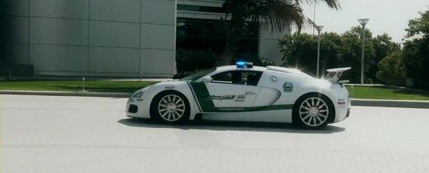 Curiozitatea Zilei: Cum arata cea mai rapida masina de politie din lume