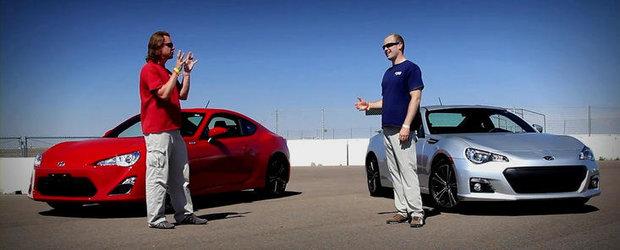 Curiozitatea Zilei: Cum se descurca noul Scion FRS in fata modelului... Subaru BRZ