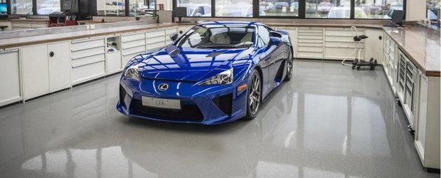 Curiozitatea Zilei: Cum se desfasoara revizia unui Lexus LFA?