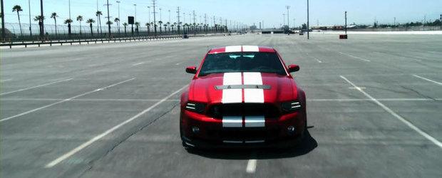 Curiozitatea Zilei: Poate atinge noul Shelby GT500 320 kilometri pe ora?
