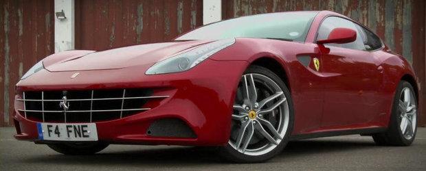 Curiozitatea Zilei: Poti face drifturi cu un Ferrari Four?
