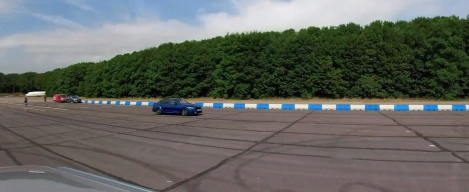 Cursa dintre Audi RS4 si BMW M3 CS ne arata de ce tractiunea integrala e cea mai buna optiune
