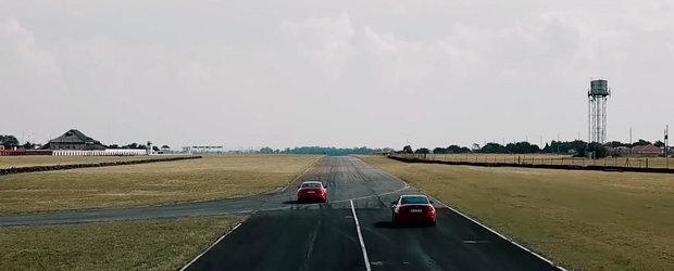 Cursa dintre Audi RS5 si BMW M4 ne arata de ce tractiunea integrala e cea mai buna alegere