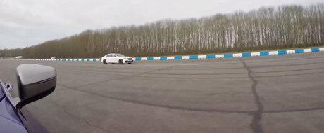 Cursa dintre BMW M760 si Mercedes S63 AMG ne arata, inca o data, de ce tractiunea integrala e cea mai buna optiune