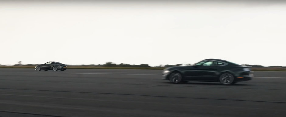 Cursa dintre Ford Mustang si Lexus LC ne arata de ce cutia manuala trebuie sa dispara