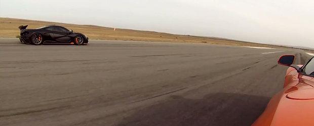 Cursa dintre McLaren 650S si McLaren P1 e mai stransa decat ne asteptam