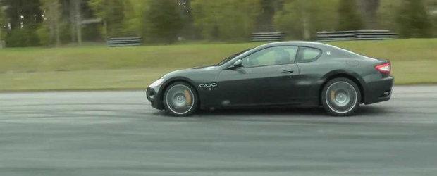 Cursa inedita intre Alpina B5 Touring si Maserati GranTurismo