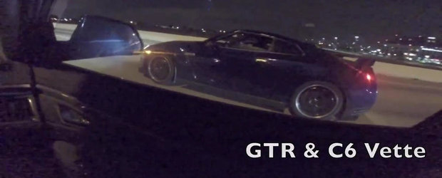 Curse ilegale cu un Cadillac CTS-V... inchiriat