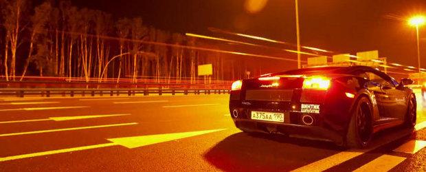 Curse Ilegale in Rusia: 911 GT2 9ff versus Gallardo UGR versus GT-R AMS Alpha 12