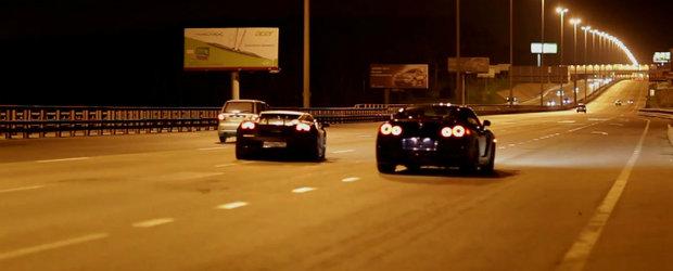 Curse Ilegale: Lamborghini Gallardo UGR vs. Nissan GT-R AMS Alpha 12