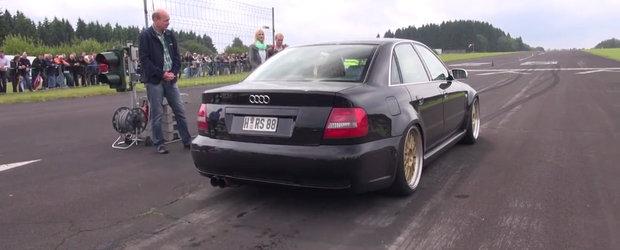 Curse Legale: Audi S4 de 1000 CP versus restul lumii
