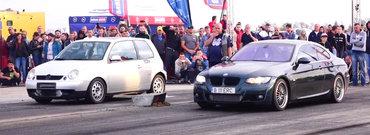 Curse legale din Romania: un VW Lupo bate la liniute un BMW 335d E92 de 480 CP