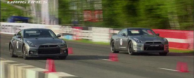 Curse legale in Rusia: Nissan GT-R versus Nissan GT-R