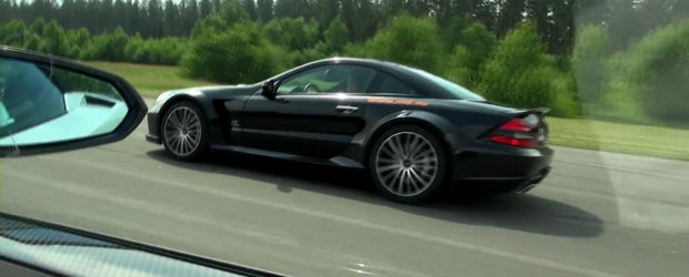 Curse Legale: Lamborghini Gallardo Performante vs. Mercedes SL65 AMG Black Series