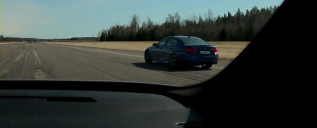 Curse Legale: Noul BMW M5 se ia la intrecere cu vechiul BMW M5. Castigatorul este...