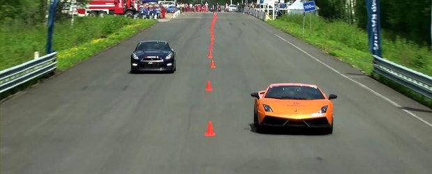 Curse legale: Priveste in actiune un Lamborghini Gallardo de peste 2.000 cai putere!