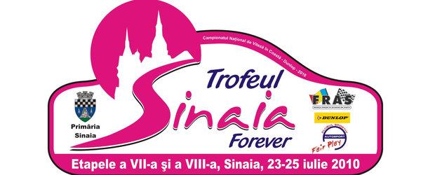Curse si viteza la Sinaia - 23-25 iulie, doua etape din CNVC