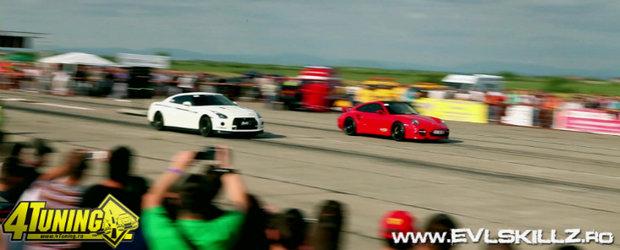 Curse spectaculoase. Atmosfera incendiara. Car wash babes. Pe scurt, Chevrolet Drag Racing 2011