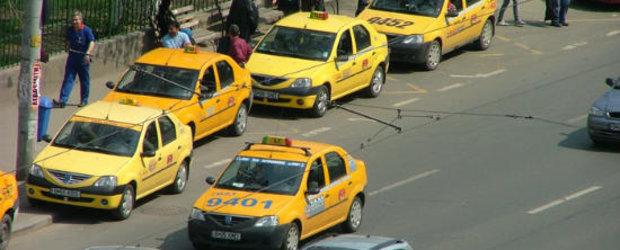 Cursele cu taxiul se scumpesc de la 1 mai