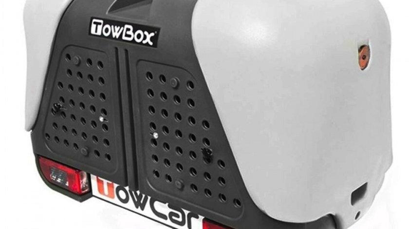 Cutie portbagaj transport animale de companie/vanatoare Towbox V2 DOG Gri