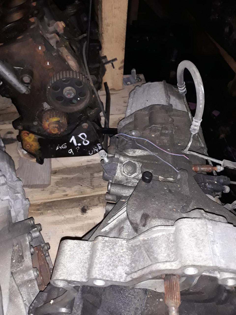 Cutie viteze manuala 6+1 trepte Audi A3 8P / A4 B7 / A6 4F 2.0 TDI cod HCF