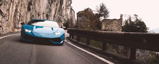 Cuvintele nu pot descrie cat de bine suna si arata acest Lamborghini Huracan