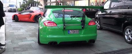 Cuvintele nu pot descrie cat de... ridicol arata acest Porsche Panamera