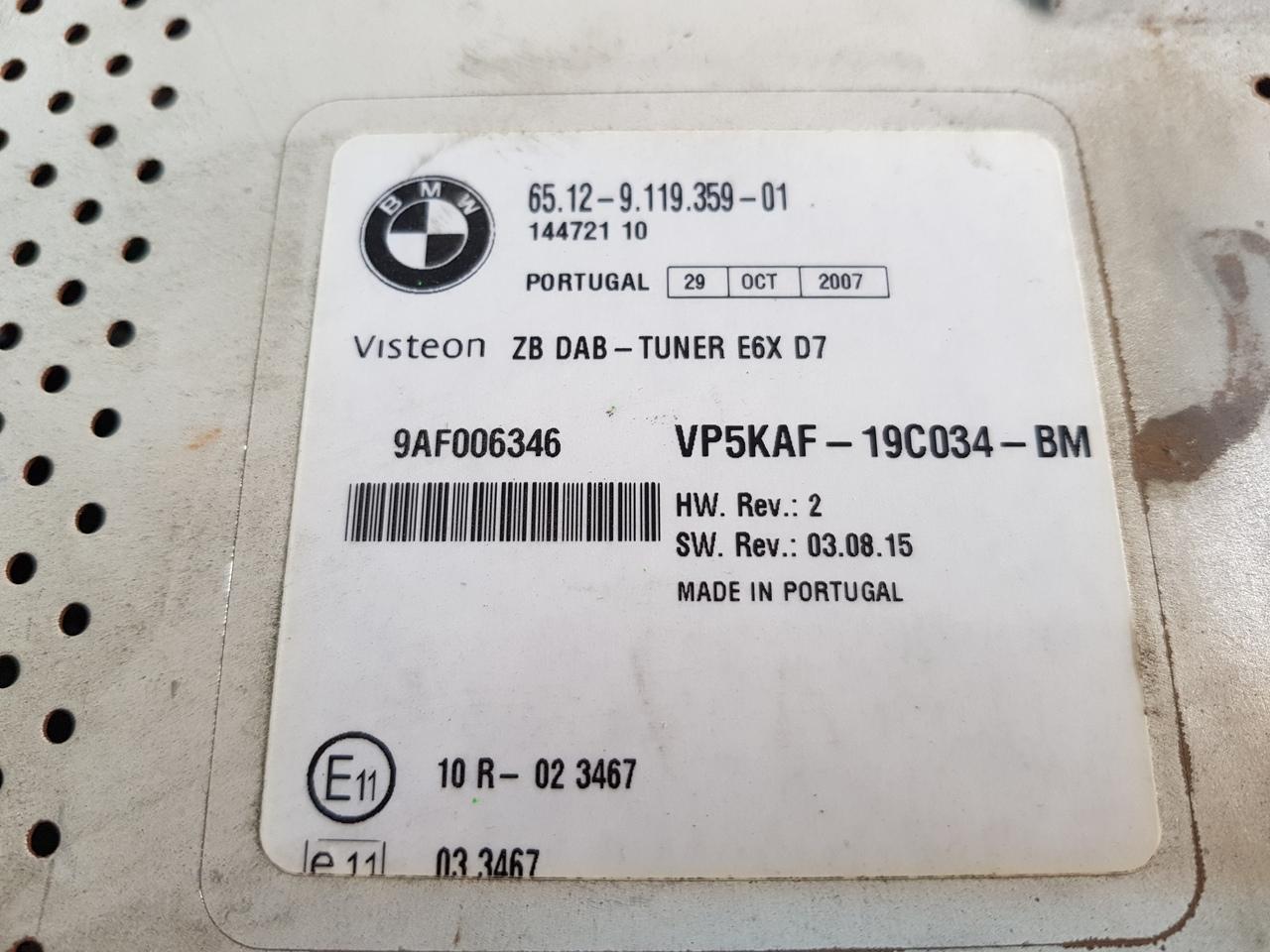 dab tuner bmw E87/E90/E60/E65/E70 seria 1 / 3 / 5 / 7 / X5 cod 65129216459