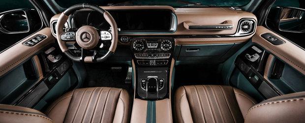 Daca iti place la interior, stai sa vezi cum arata la exterior acest G63 tunat de Carlex Design. GALERIE FOTO