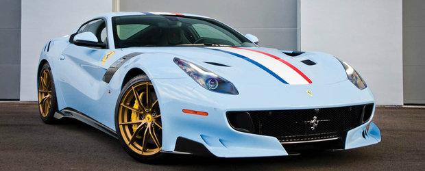 Daca iubesti Ferrari-ul F12 TdF si...Franta, atunci asta-i masina visurilor tale. Cu cat se vinde ea