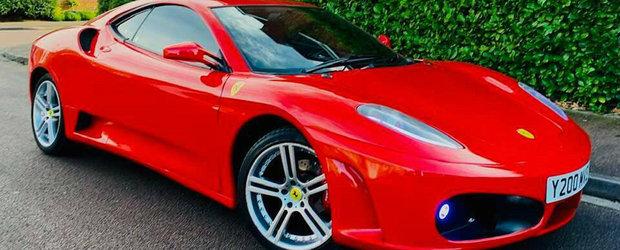 Daca n-ai bani de Ferrari F430, ASTA e masina ta. FOTO ca sa te convingi si singur