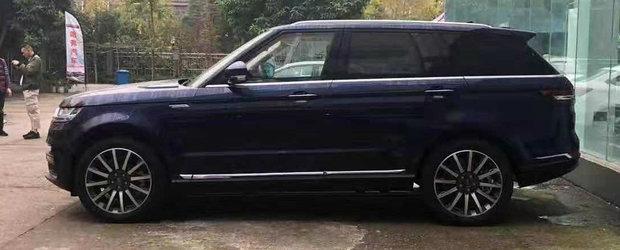 Daca n-ai bani de Range Rover, ASTA e masina ta. FOTO ca sa te convingi si singur