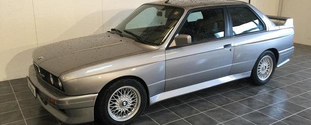 Daca nu stii ce sa faci cu niste banuti, ce spui de un BMW M3 E30?