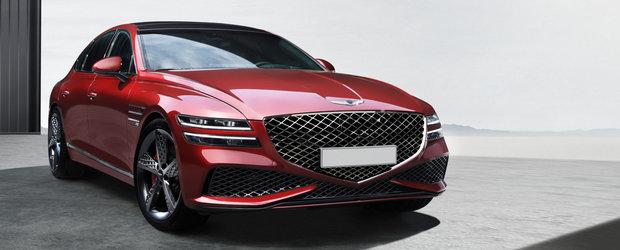 Daca nu vrei s-auzi de Seria 5, asta e masina ta. Compania producatoare a publicat acum primele imagini cu versiunea Sport