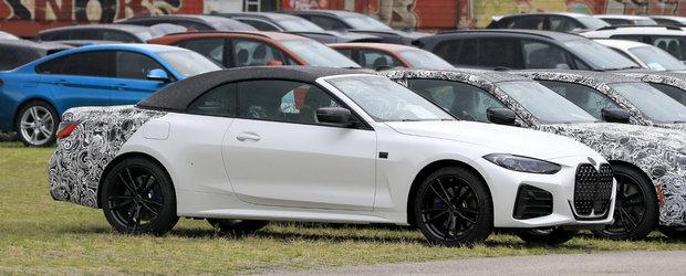 Daca ramane asa, BMW isi va pierde toti clientii. Uite cum arata la exterior noua Serie 4 Convertible