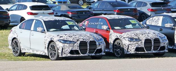Daca ramane asa, BMW isi va pierde toti clientii. Uite cum arata la exterior noul M3 Sedan