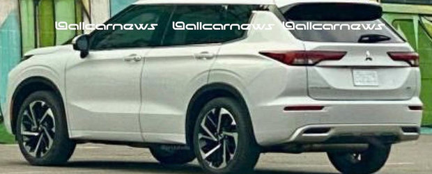 Daca ramane asa, Volkswagen Tiguan isi va pierde toti clientii. Uite cum arata la exterior noul Mitsubishi Outlander