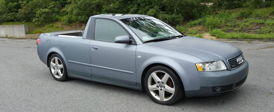 Daca te-ai plictisit de Audi-ul tau cu patru usi, transforma-l intr-un pick-up