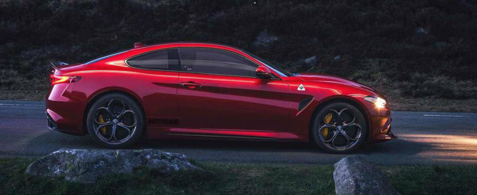 Daca zvonurile se adeveresc, nemtii au dat de belea: Alfa ar lucra la o Giulia cu doua portiere si 650 CP sub capota