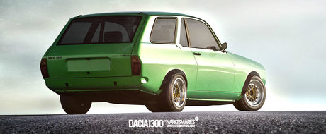 Dacia 1300 Break Coupe, by Narcis Mares - DE CE NU?