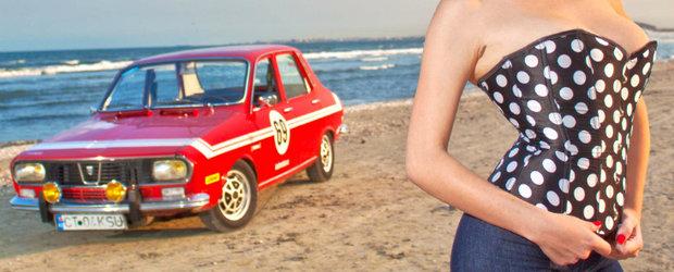 Dacia 1300 nr. 69 - pictorial retro de exceptie